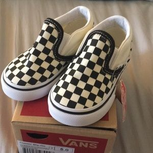 Brand New Toddler Vans